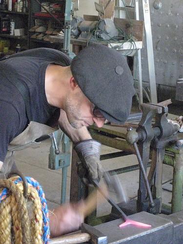 Blacksmith at Gordon Skagit Farms