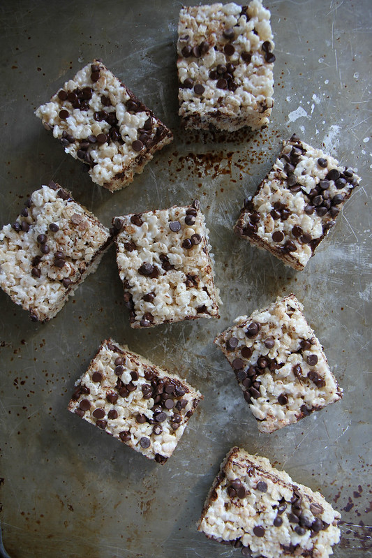 "Is it ridiculous to post a ""recipe"" for Rice Krispie Treats ..."