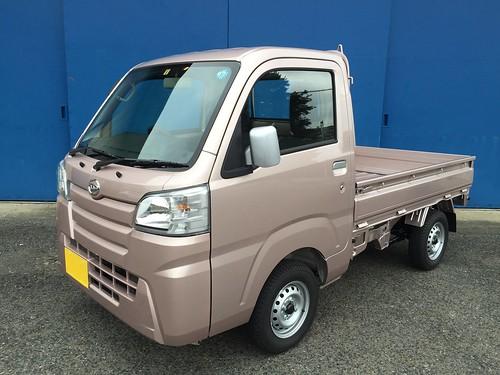 ダイハツ ハイゼットトラック S510P ピンク
