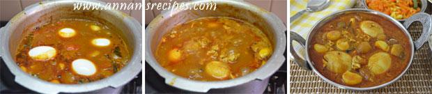 Egg Kulambu /Muttai Kulambu (Chettinad)