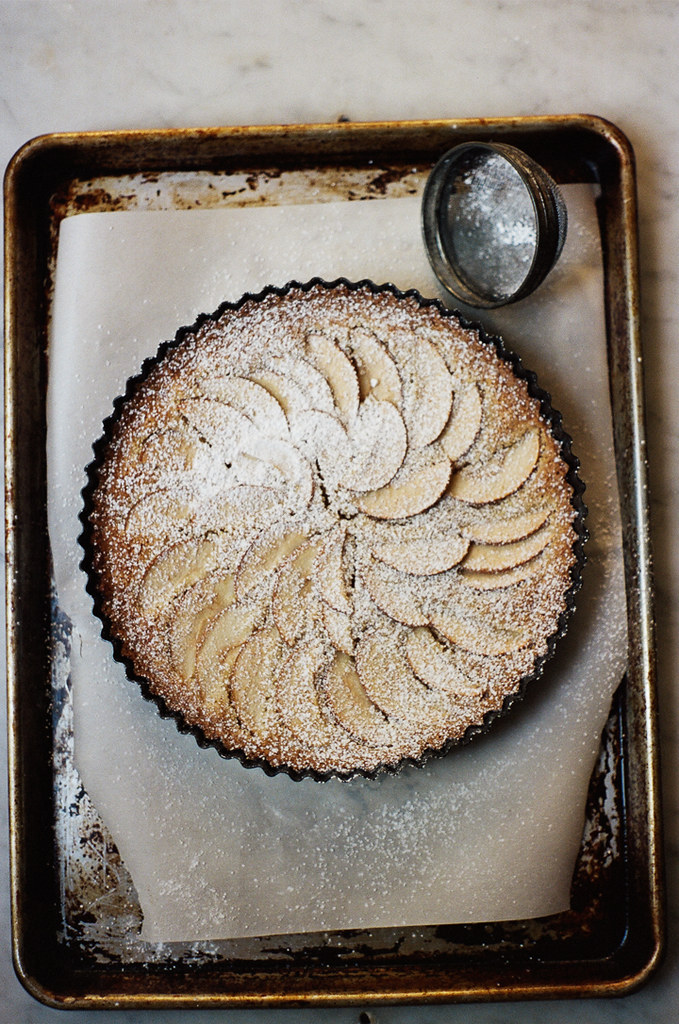 apple frangipane tart (yossy arefi)