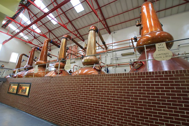 Mortlach Distillery Stillhouse