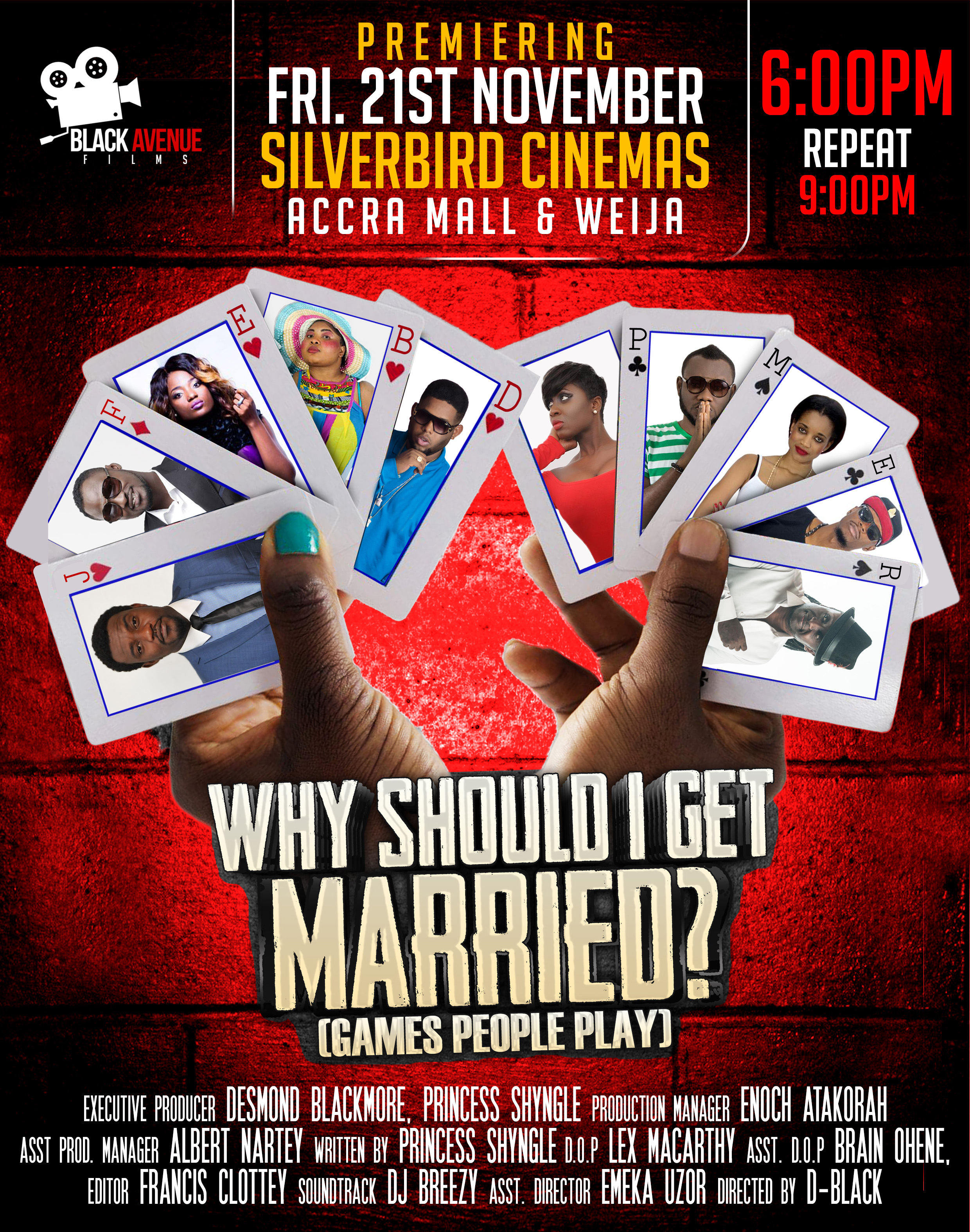 WHY SHOULD I GET MARRIED POSTER CREW