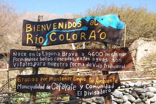 Rio Colorado, Cafayate, Argentina