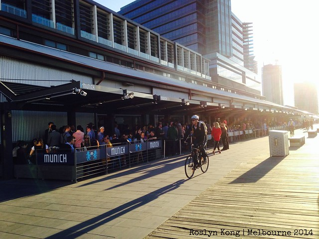 South Wharf Promenade, Melbourne