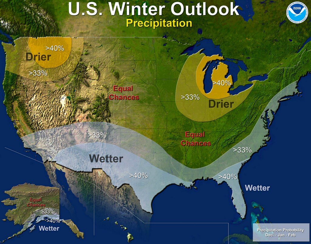 NOAA preciptiation outlook winter 2014-15