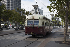 F Line: Muni Metro, San Francisco
