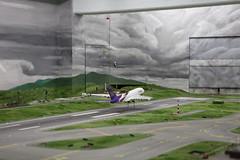 Miniatur Wunderland Knuffingen Airport (A380 takeoff)