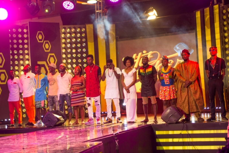 The 12 Contestants.