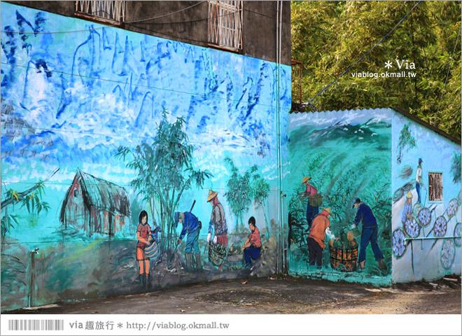 【關廟彩繪村】新光里彩繪村~在北寮老街裡散步‧遇見全台最藝術風味的彩繪村49
