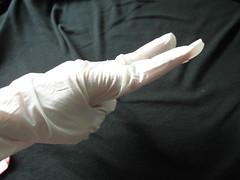 來玩剪刀石頭布XD@曜鴻NBR優質家事手套