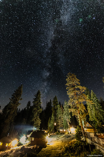 Milky Way at Sequoia National Park