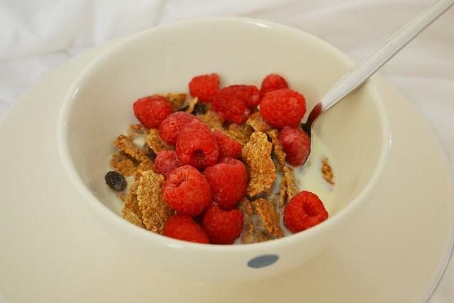 breakfast this morning