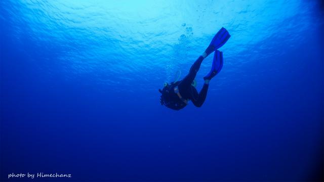 黒島ブルーはいい感じ♪