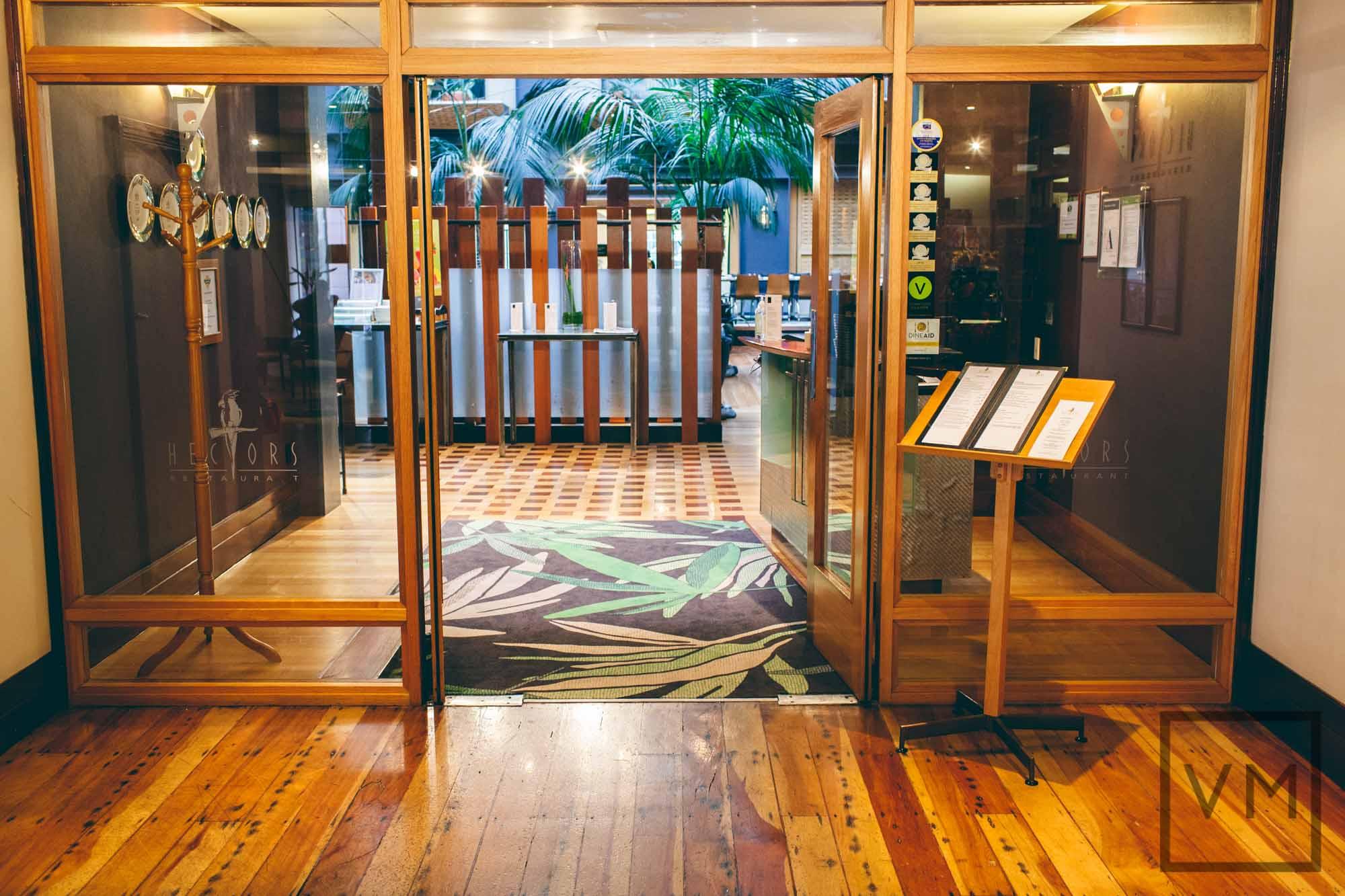 Hectors Restaurant Entrance
