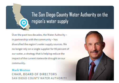 SDCWA on the region's water supply