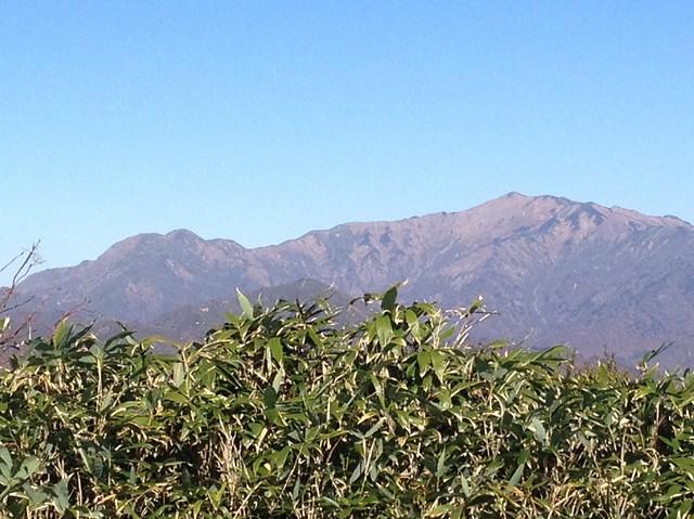 大日ヶ岳 頂上からの眺望 銚子ヶ峰~別山