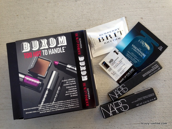 Haul Nars Creamy Concealer Smudge Proof Eyeshadow base Buxom Sephora Perk Points 500