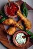 Olives for Dinner | Beer-Battered Zucchini Blossoms