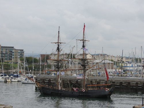 Arrival of 'The Clove' into Plymouth