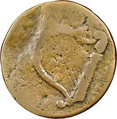 1776 New Hampshire Copper reverse