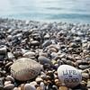 Trouvé à la plage ce matin. Heureux hasard... #Lifeisgood