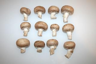 02 - Zutat Champignons / Ingredient mushrooms