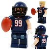 JJ Watt Houston Texan Custom Minifig
