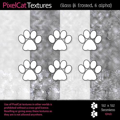 PixelCat Textures - Glass