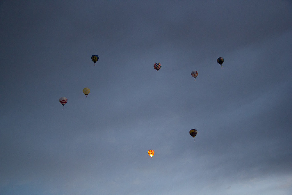 Dawn Patrol at Albuquerque Hot Air Balloon Festival