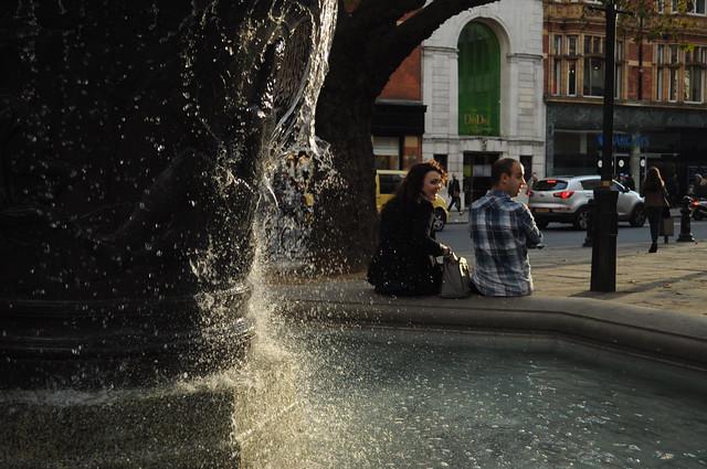 Sloane Square fountain