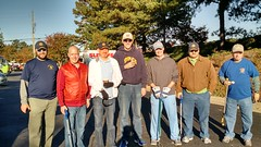 Club members (L-R) Mike Wienold, Bobby Barnes, Steven Dieckhaus, Bob Meynardie, Jay Williams, Steve Nelson and Jim Morgan. Maritza Ortiz (behind the camera) attended with Steven Dieckhaus.