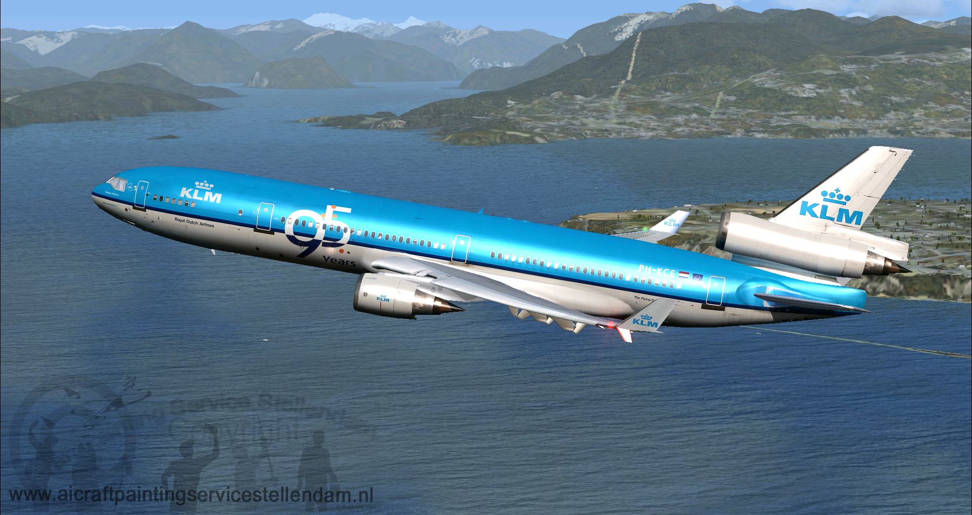 IFDG_MD11KLM_95Years_PH-KCE_FSX