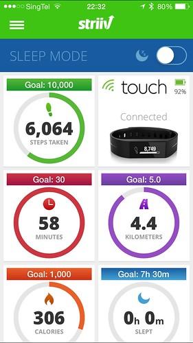 Striiv iOS App - Home