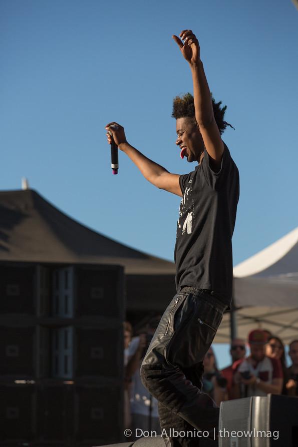 Danny Brown @ TBD Festival 2014 - Saturday, Sacramento
