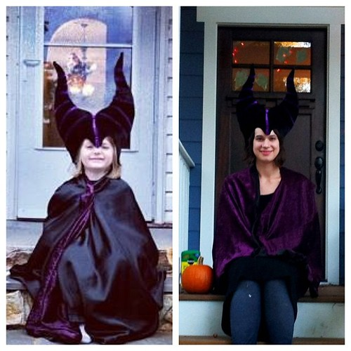 The multi-generational Maleficent costume: ages 4 - 24