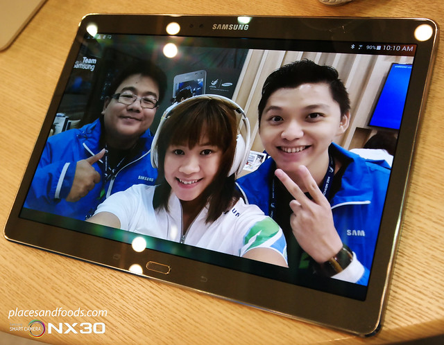 pandelela rinong wefie on tab type s