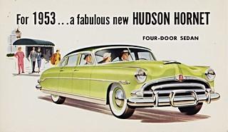 1953 Hudson Hornet Four-Door Sedan