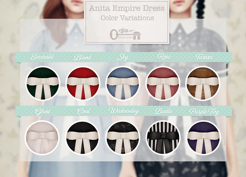 Anita Empire Dress - Contact Key