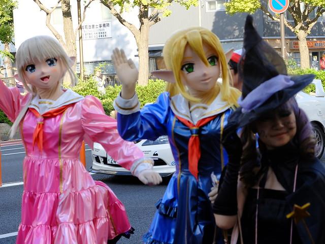 Kawasaki Halloween parade 2014 108