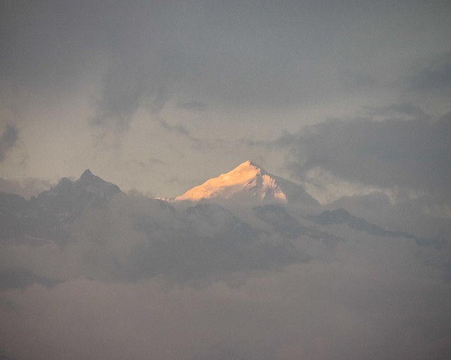 Langtang at sunset