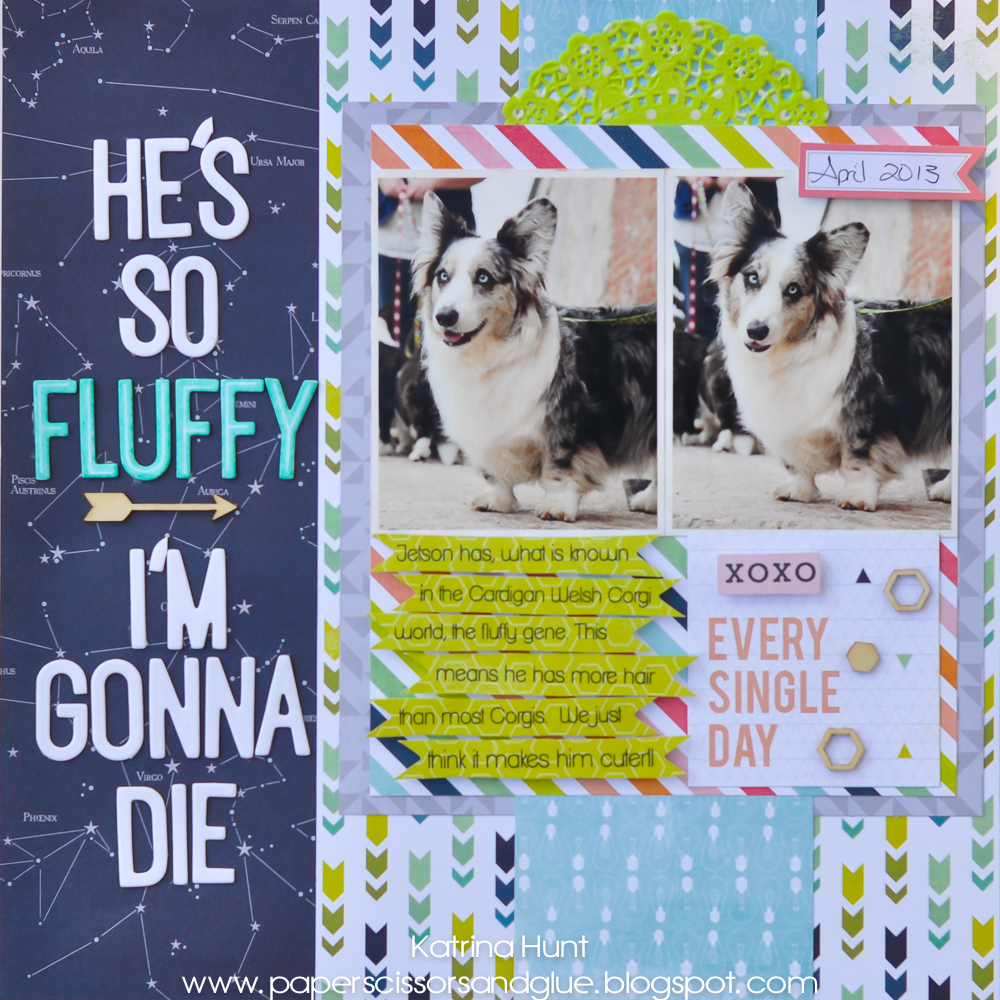 He's So Fluffy-Heidi Swapp Fun