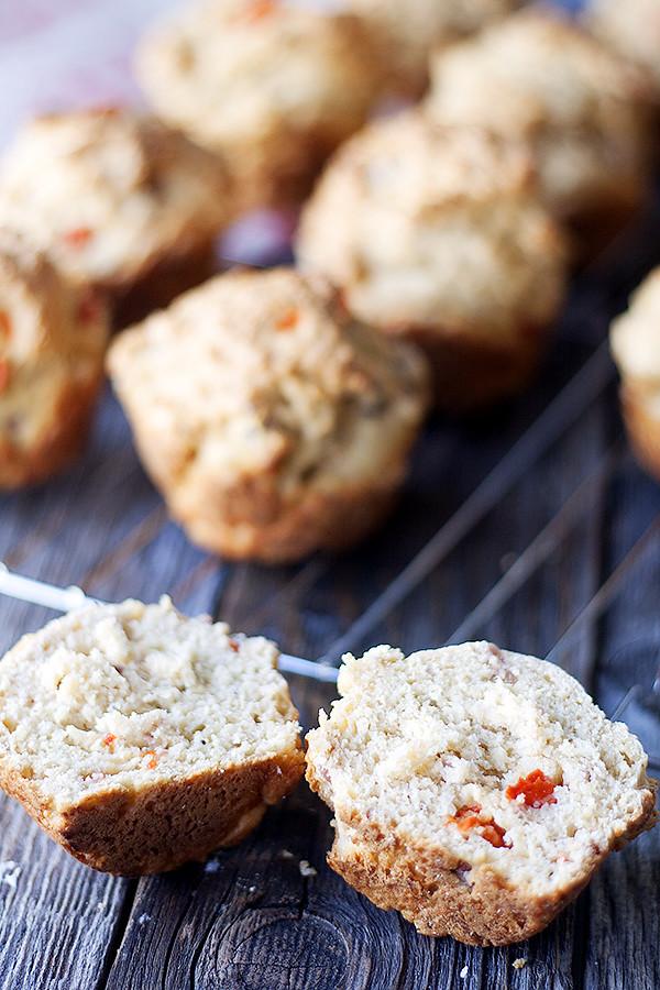 savory breakfast muffins