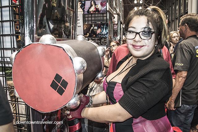 NY Comic Con 2014 Harley Quinn Hammer