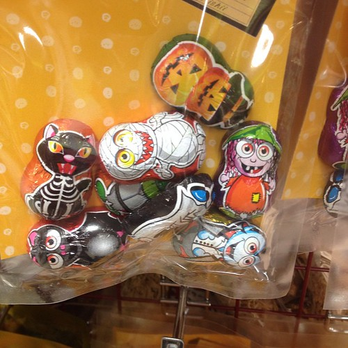Really happy that Halloween is a thing in Japan. We saw the cutest little candies in Tokyo Big Food Show.