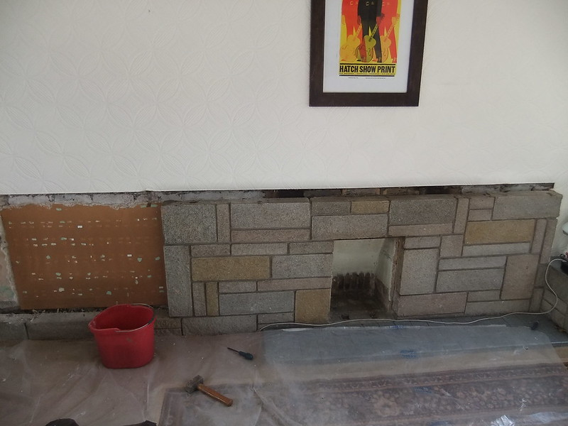 Fireplace dismantling