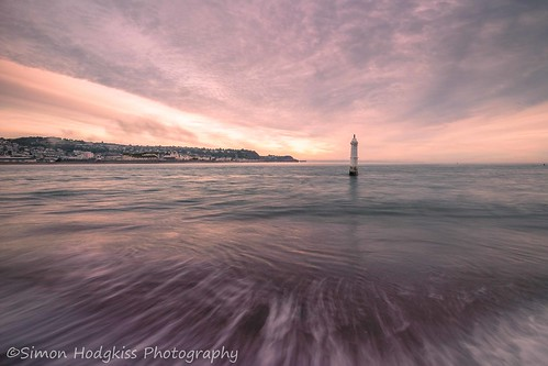 uk sky seascape clouds sunrise landscape devon teignmouth shaldon