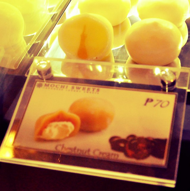 Chestnut Cream Mochi