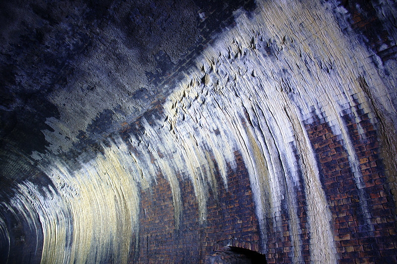 Stalactites in Great Western Road Tunnel