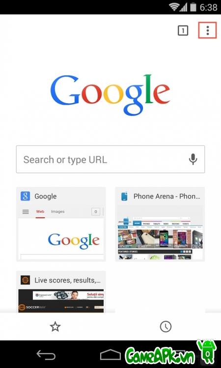 Mẹo xóa lịch sử web của Chrome trên Android
